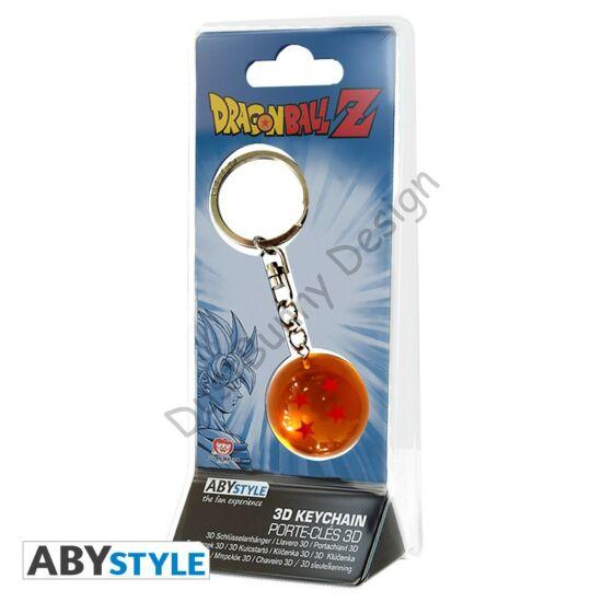 Dragon Ball kulcstartó - 3D DBZ Sárkánygömb