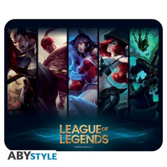 League of Legends rugalmas egérpad