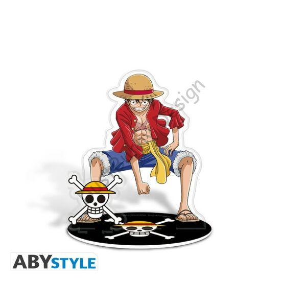 One Piece akril figura - Monkey D. Luffy