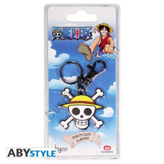 One Piece kulcstartó - Skull Luffy