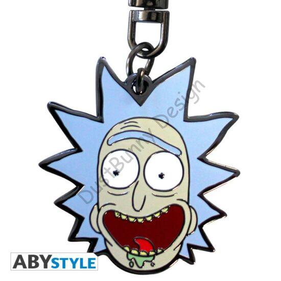 Rick és Morty kulcstartó - Rick
